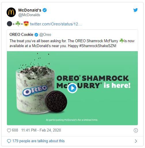 McDonalds tweet emoji marketing