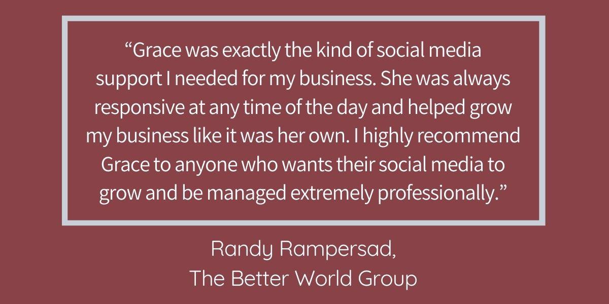 GSWG testimonial blog Better World Group