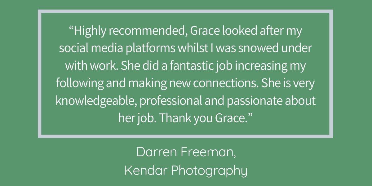 GSWG testimonial blog Kendar Photography