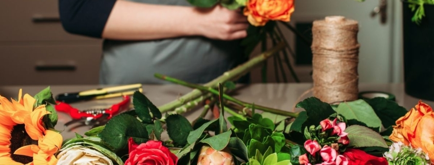 Social media ideas for a florist